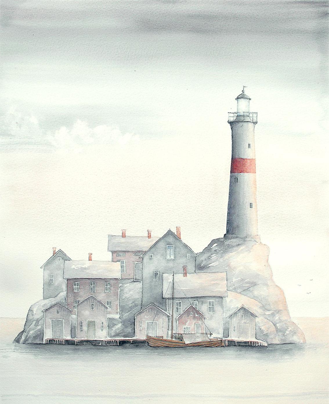 Infrusen dröm Giclée/FineArt 29 x 35 cm 800 : –/blad