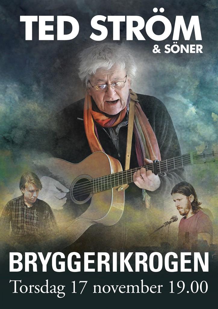 Affisch Ted & söner Brygg X web